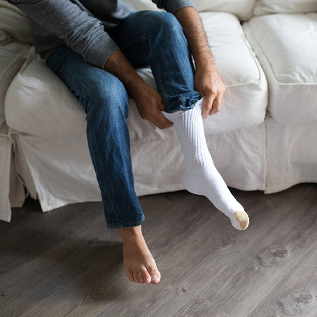 Gold Toe Men/'s Cotton Crew 656s Athletic Sock 12 Pairs 24 Socks