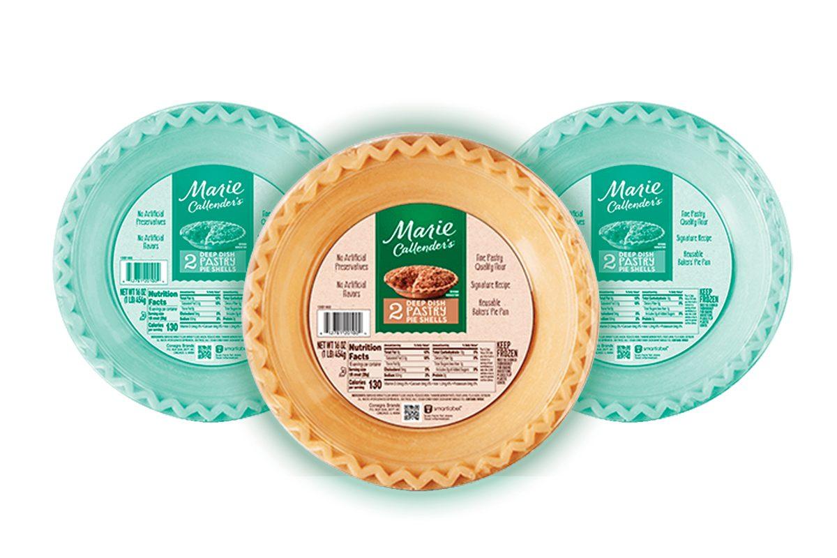 Marie Calendars Pastry Pie Shells