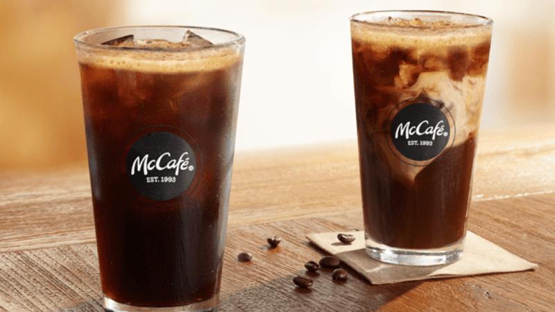 McDonald's cold brew