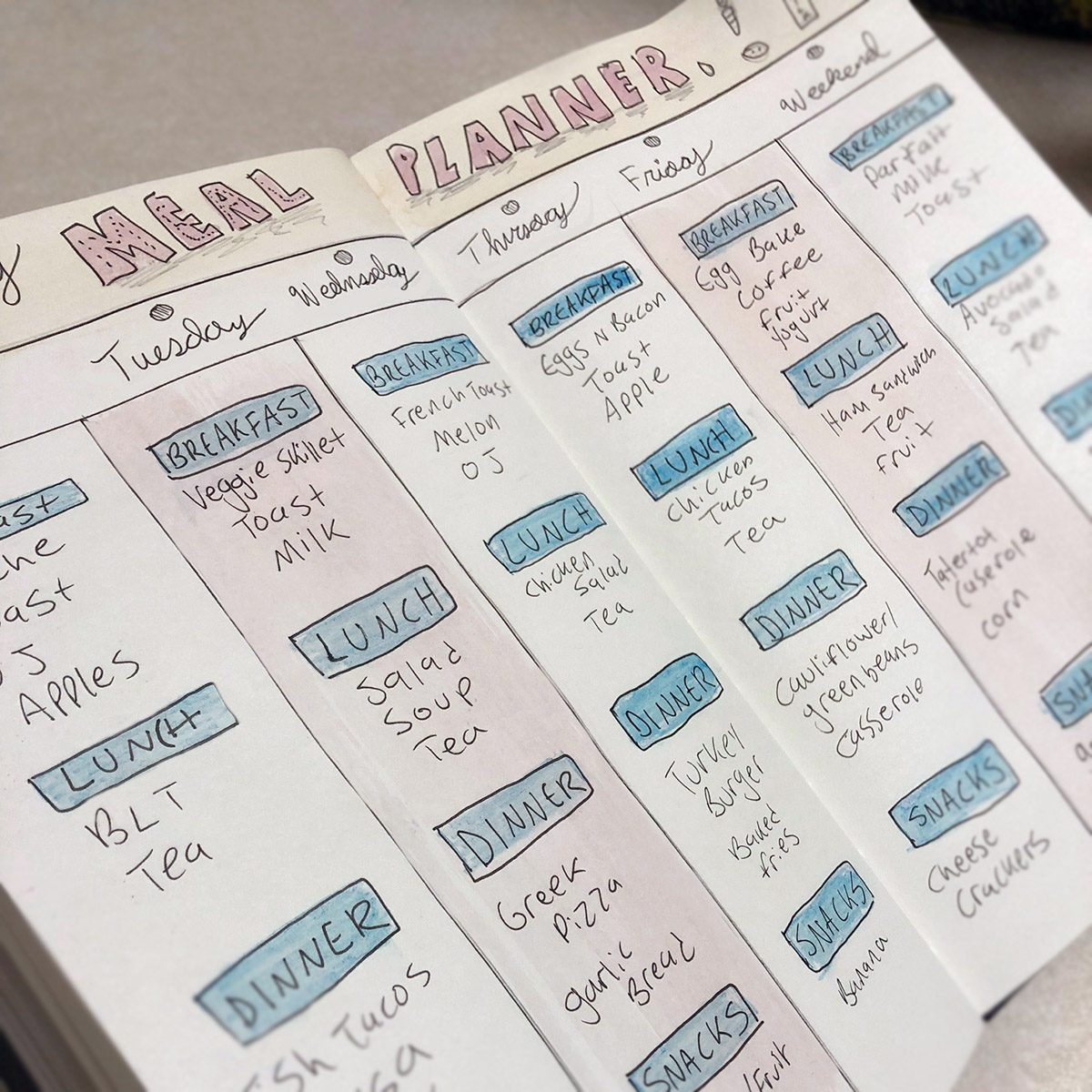 5 Ways To Use Your Bullet Journal To Eat Healthier Taste Of Home