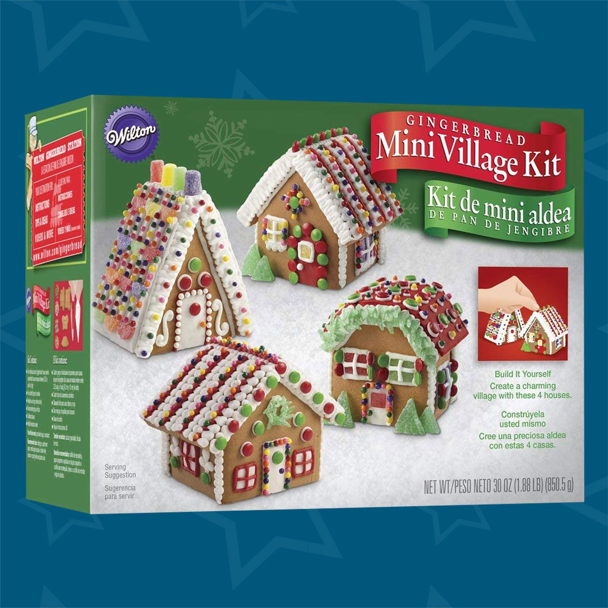 Christmas Gingerbread House Decorations.The Best Gingerbread House Kits To Buy This Year Taste Of Home