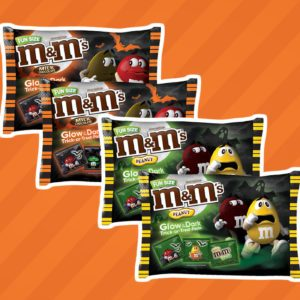 M&M's Launches Halloween Candy and the Reviews Are GLOWING!