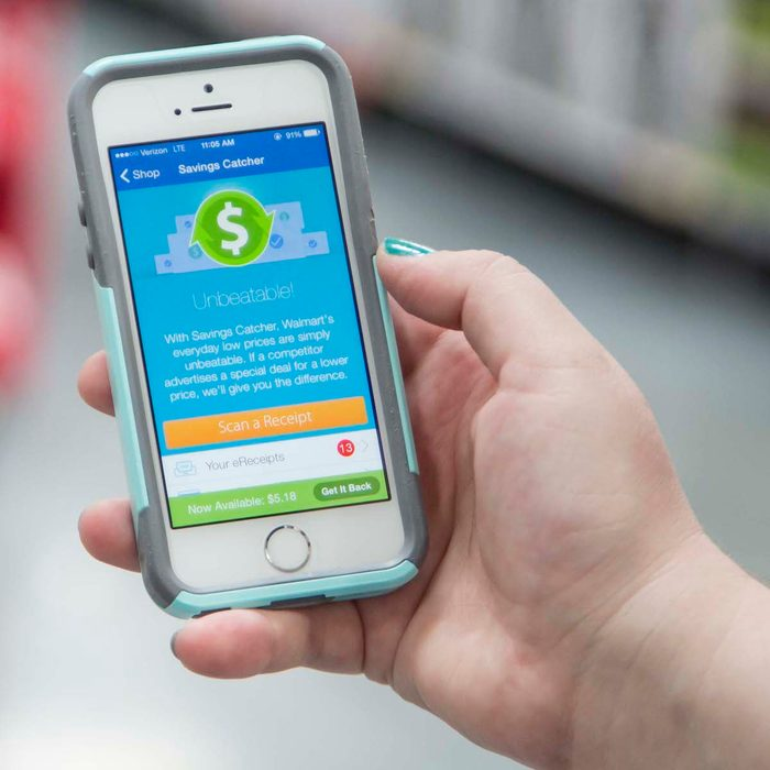 Walmart savings catcher app