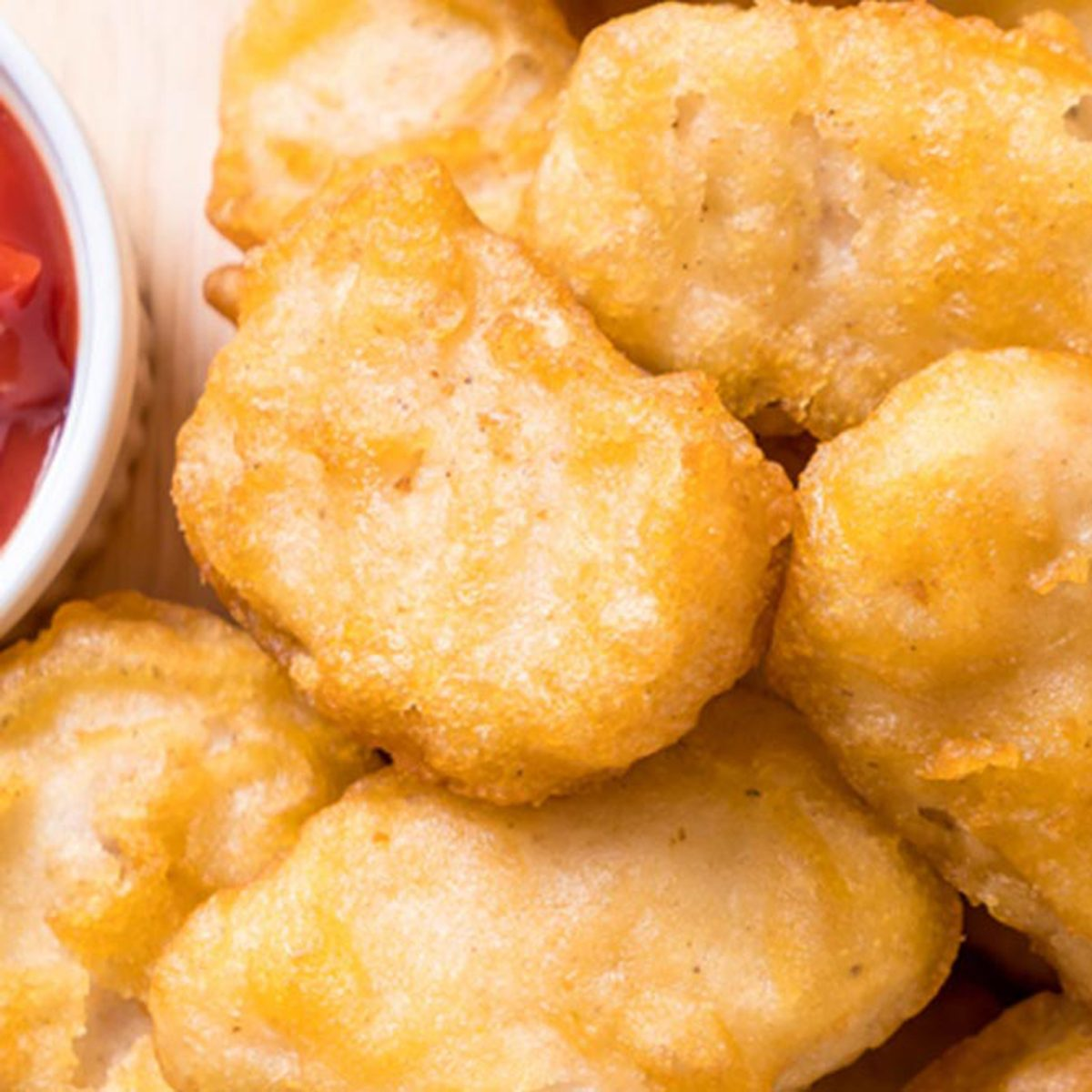 chicken mcnuggets close-up
