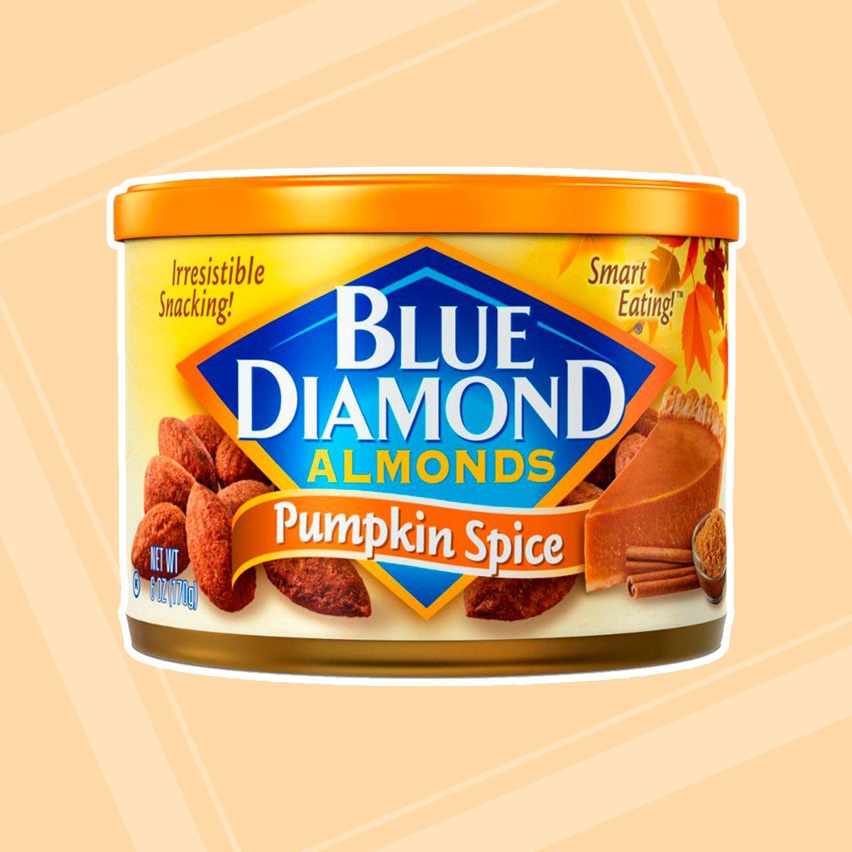 Blue Diamond Gluten Free Almonds, Pumpkin Spice, 6 Ounce