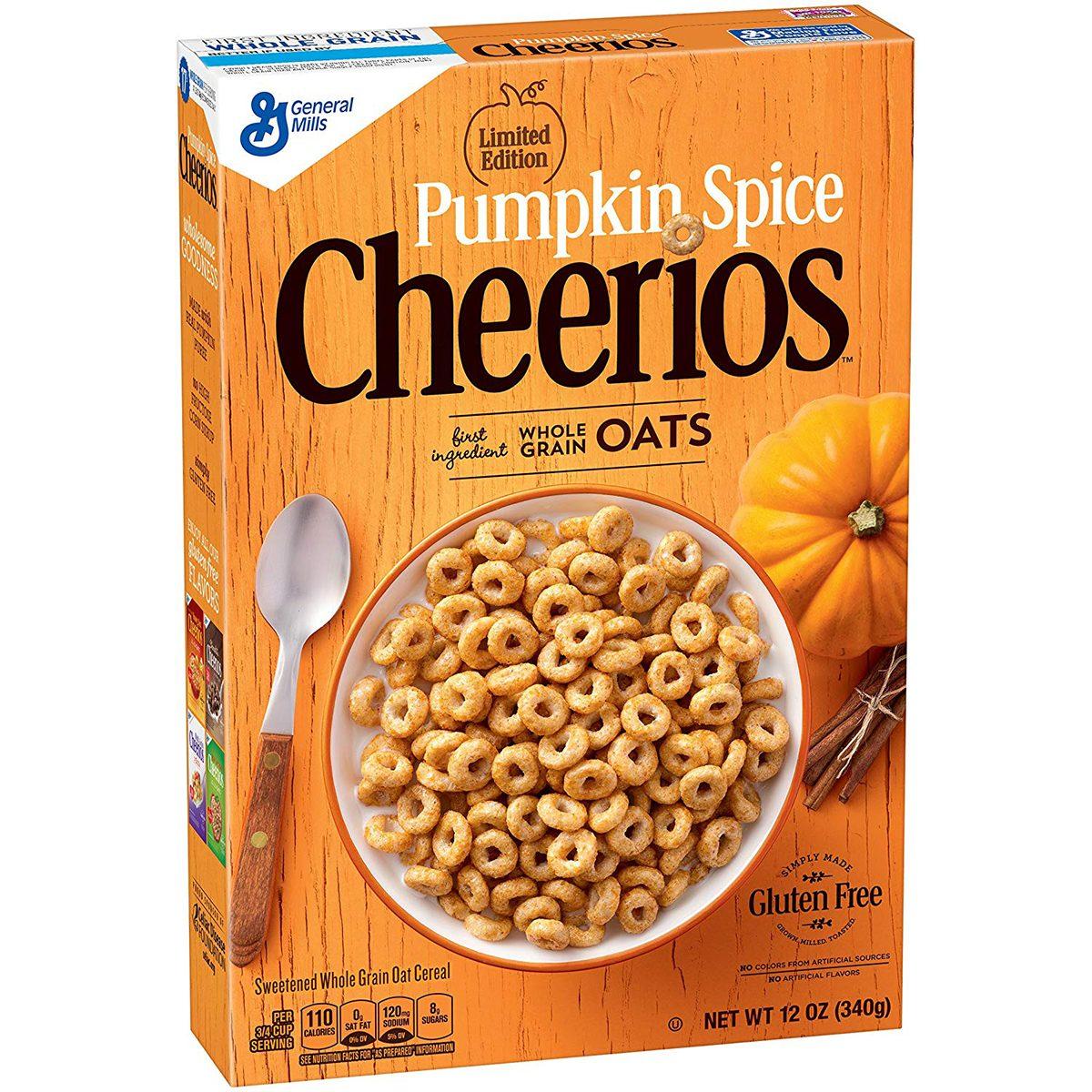 pumpkin spice cereal