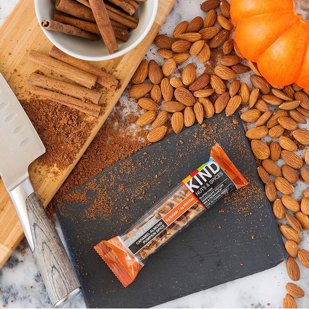 pumpkin spice granola bar