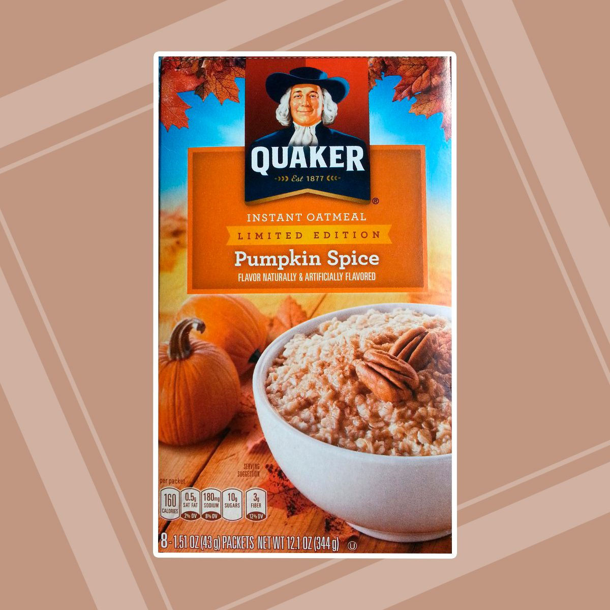 Quaker Instant Oatmeal Limited Edition Pumpkin Spice 8 ct
