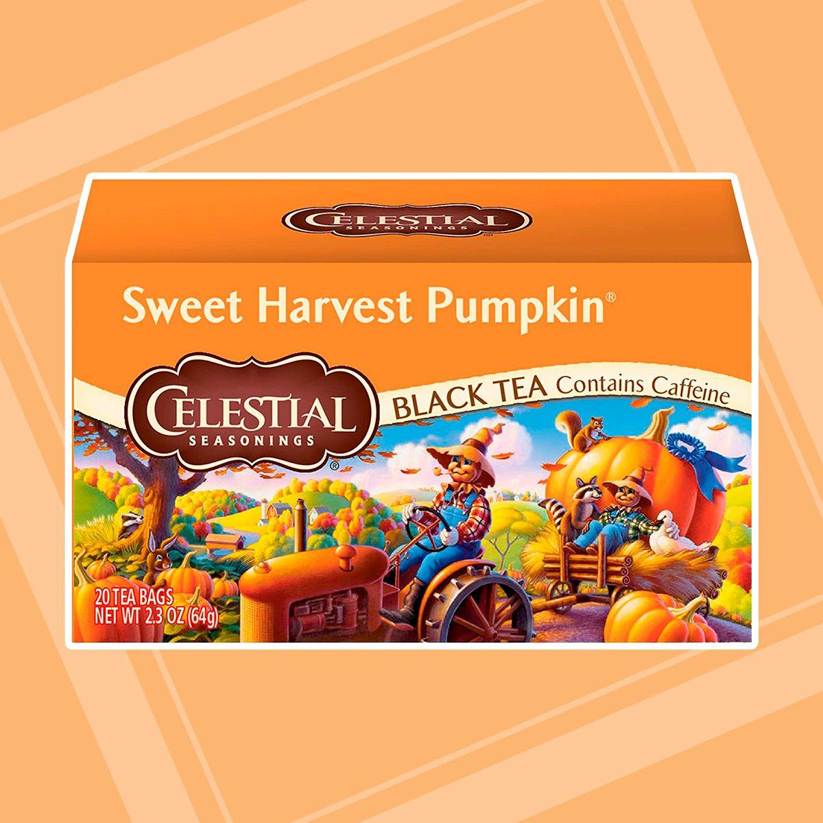 CELESTIAL SEASONINGS Sweet Harvest Pumpkin Tea, 20 CT