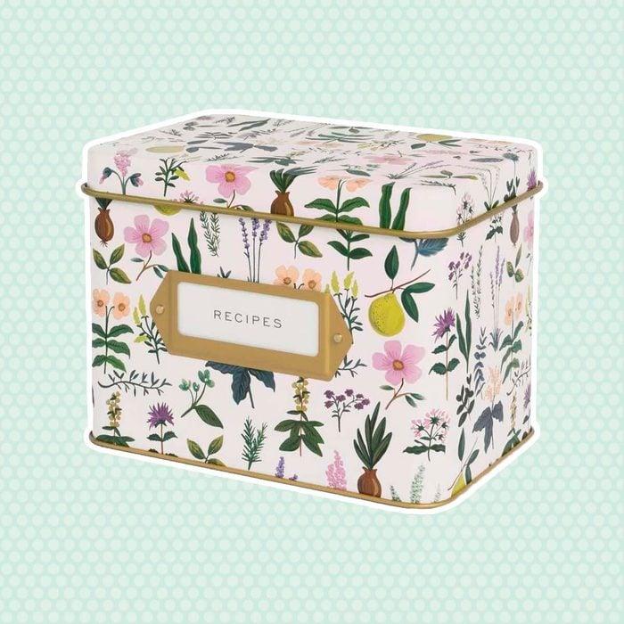 Rifle Paper Co. Recipe Box (Herb Garden)