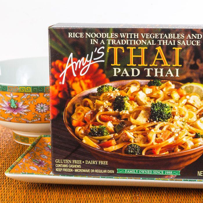 Amy's Pad Thai frozen food dinner
