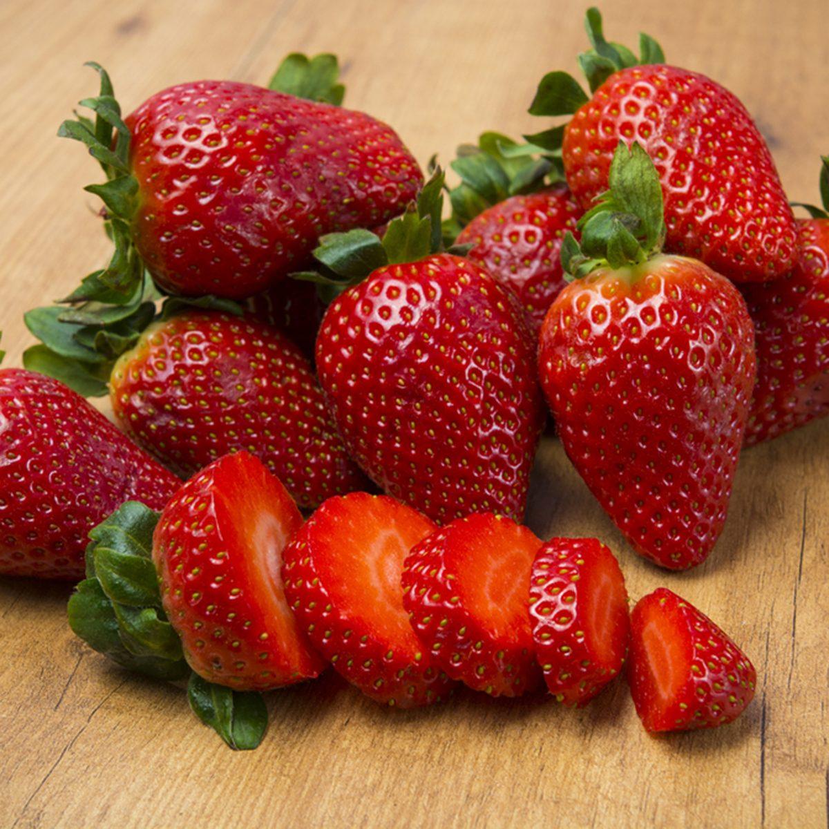 Strawberry slices; Shutterstock ID 397689445; Job (TFH, TOH, RD, BNB, CWM, CM): Taste of Home