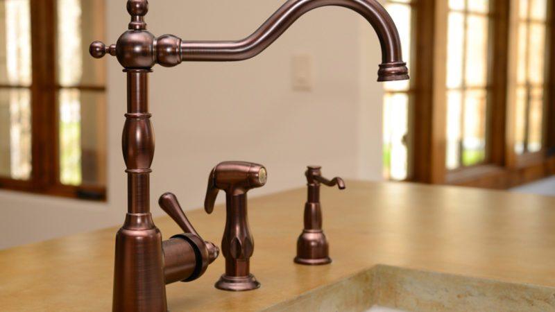 Faucet in a kitchen sink; Shutterstock ID 94707952; Job (TFH, TOH, RD, BNB, CWM, CM): Taste of Home