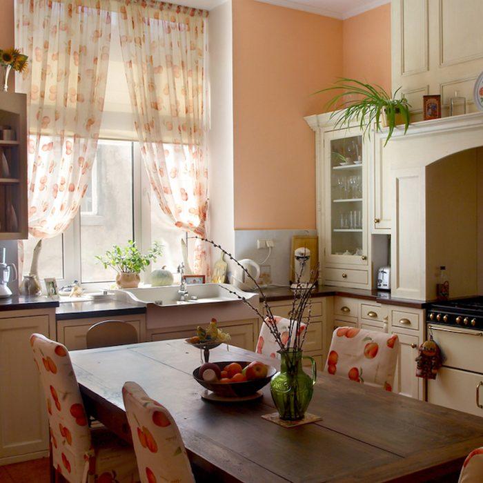 Image of vintage kitchen.