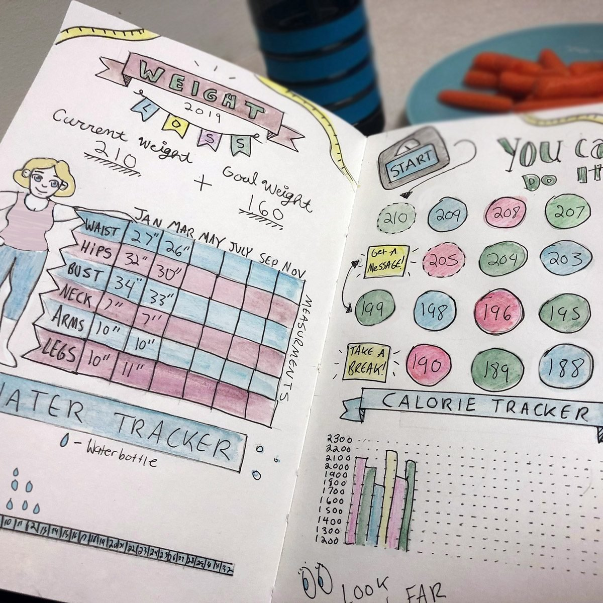 5 Ways to Use Your Bullet Journal to Eat Healthier | Taste ...