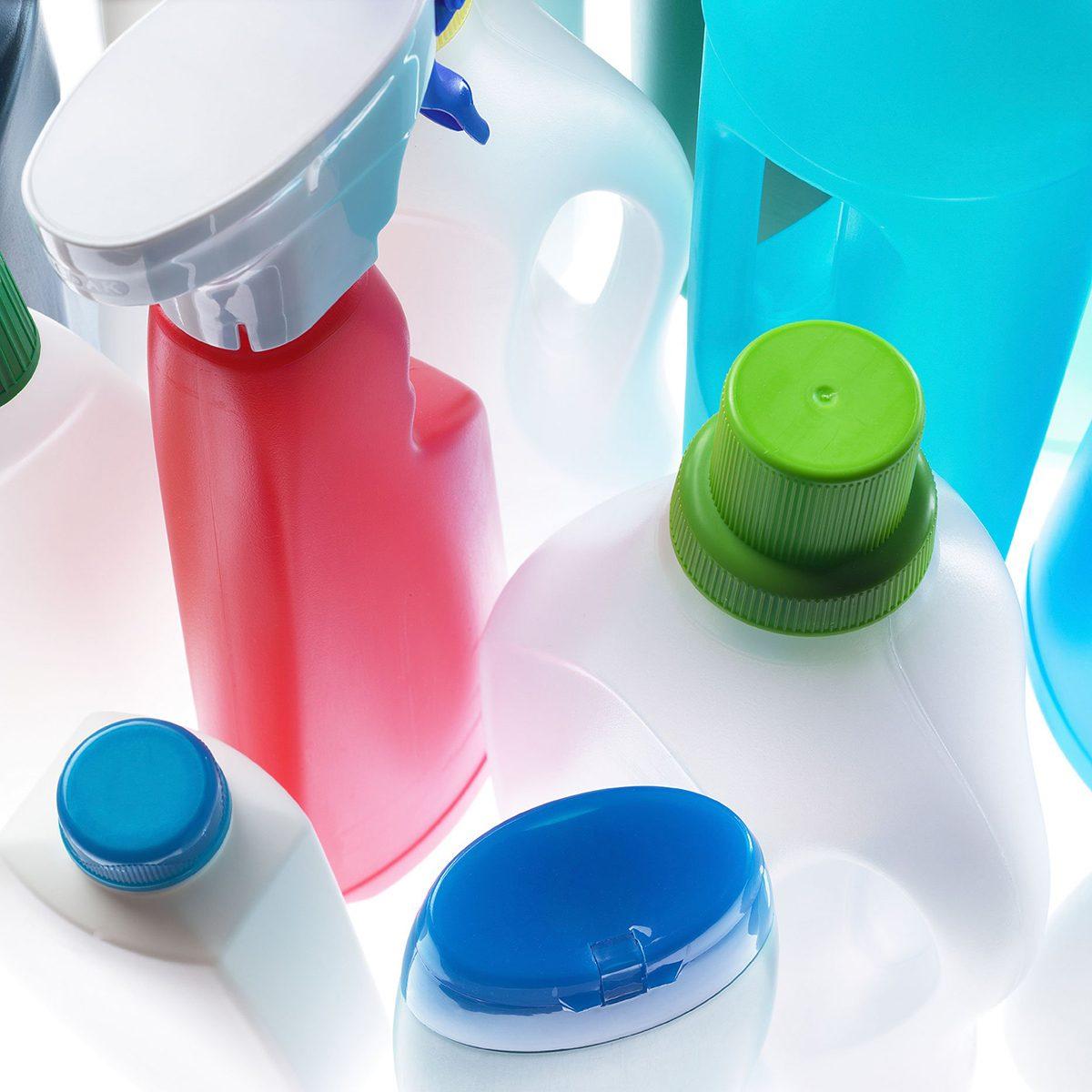 Bottles of ammonia