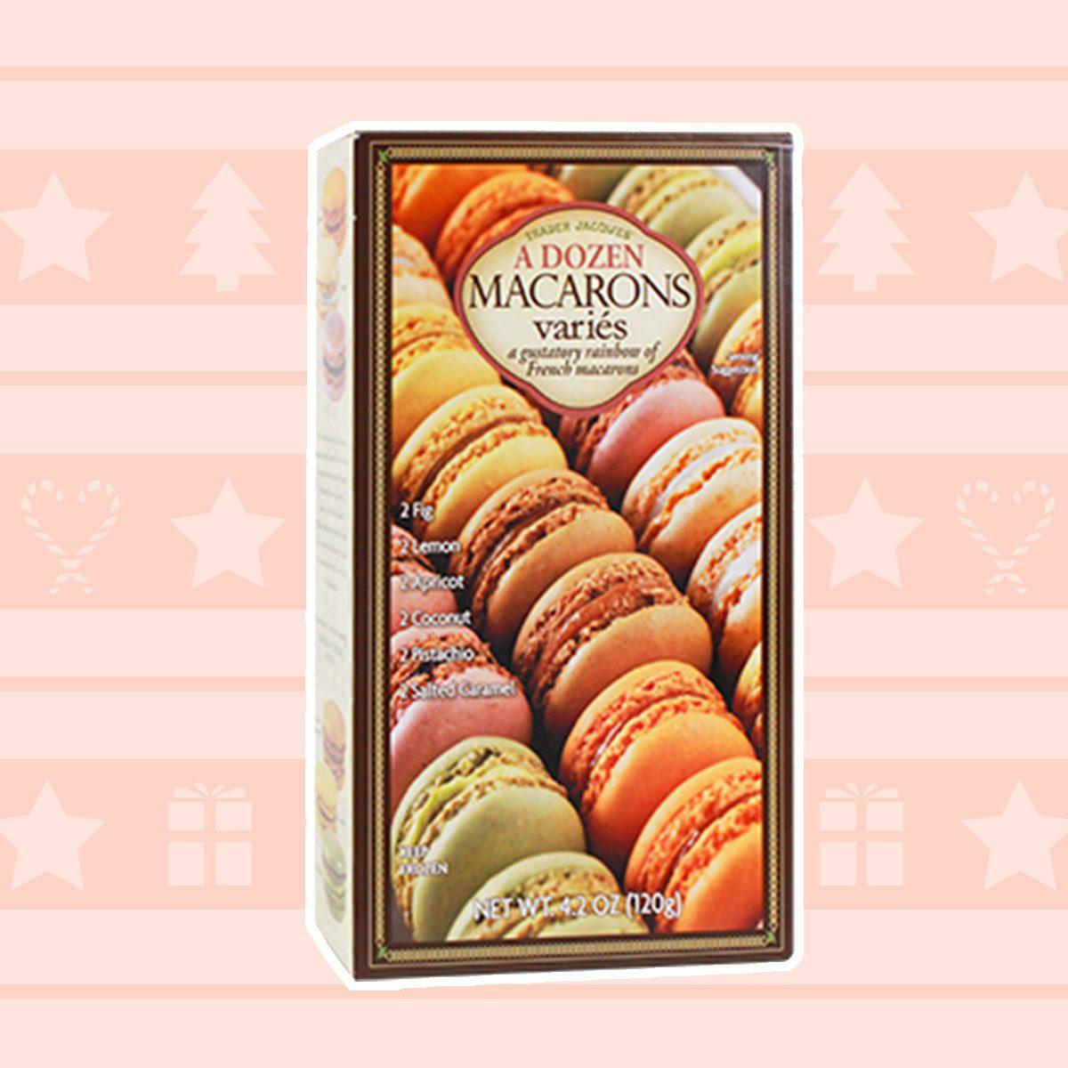 A Dozen Macarons Variés