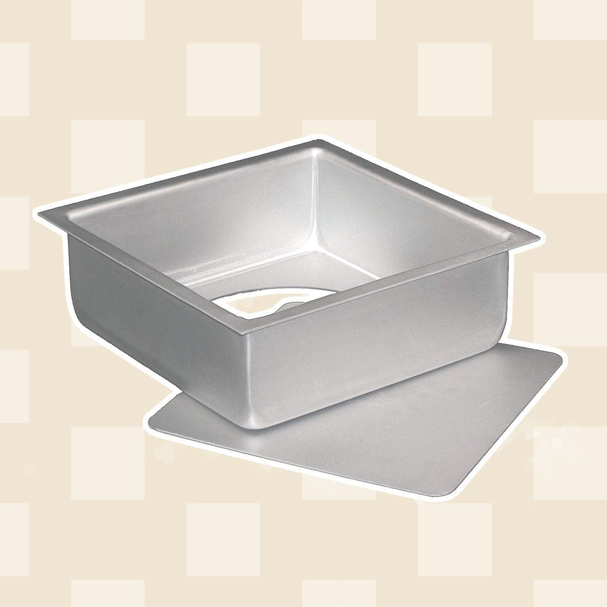 Aluminum Square Cheesecake Pan