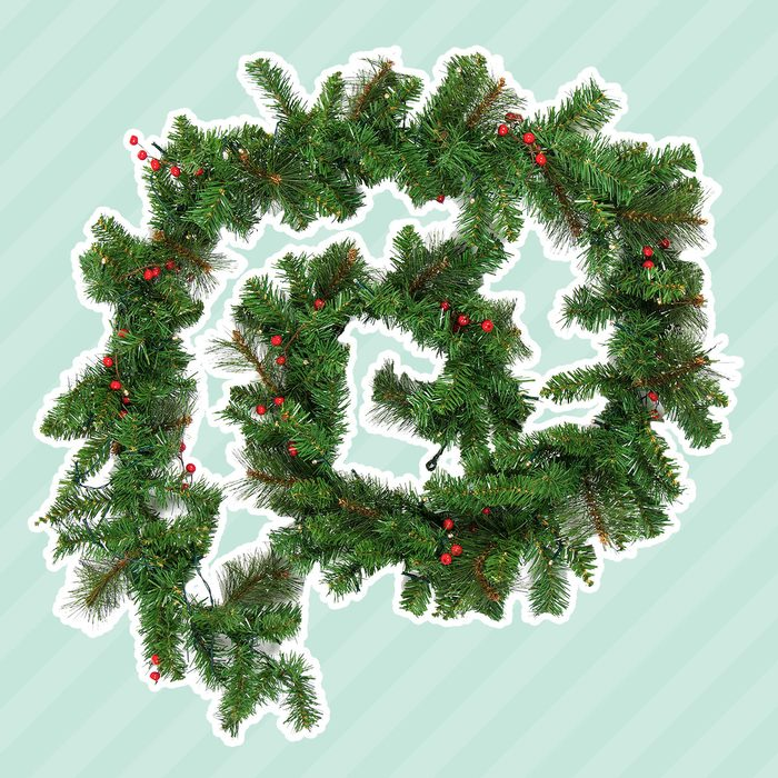 Best Choice Products 9Ft Pre-Lit Christmas Garland