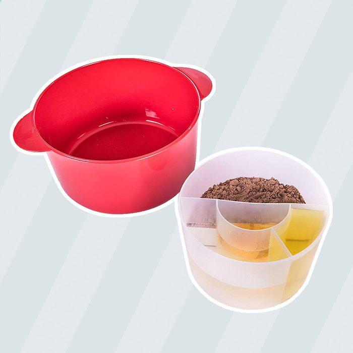 Betty Crocker BCB-3002 Microwave Cake Maker, Plastic, Red