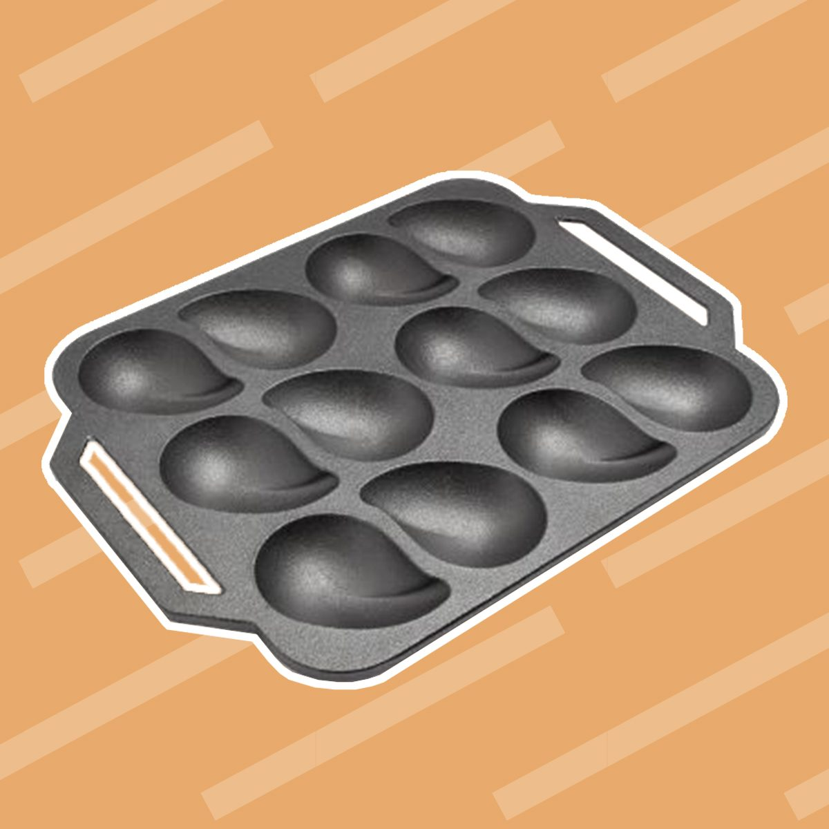 Cast Iron Oyster Pan