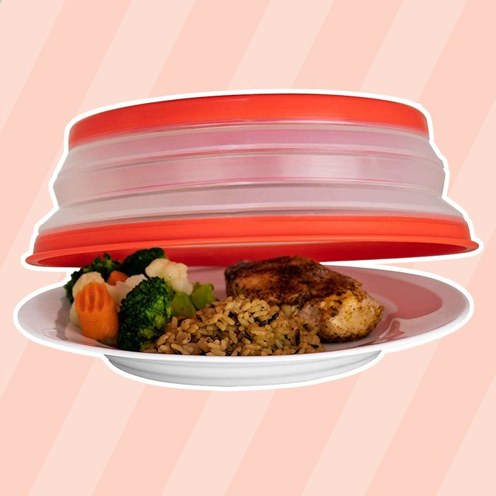Collapsible Microwave Cover