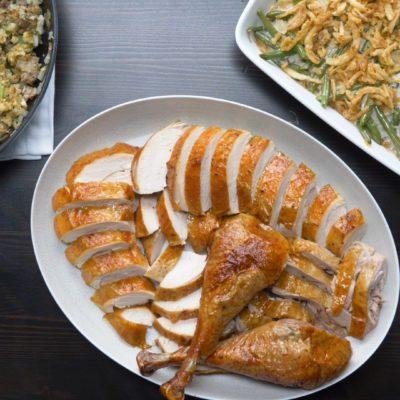 Watch Us Make: Marinated Thanksgiving Turkey