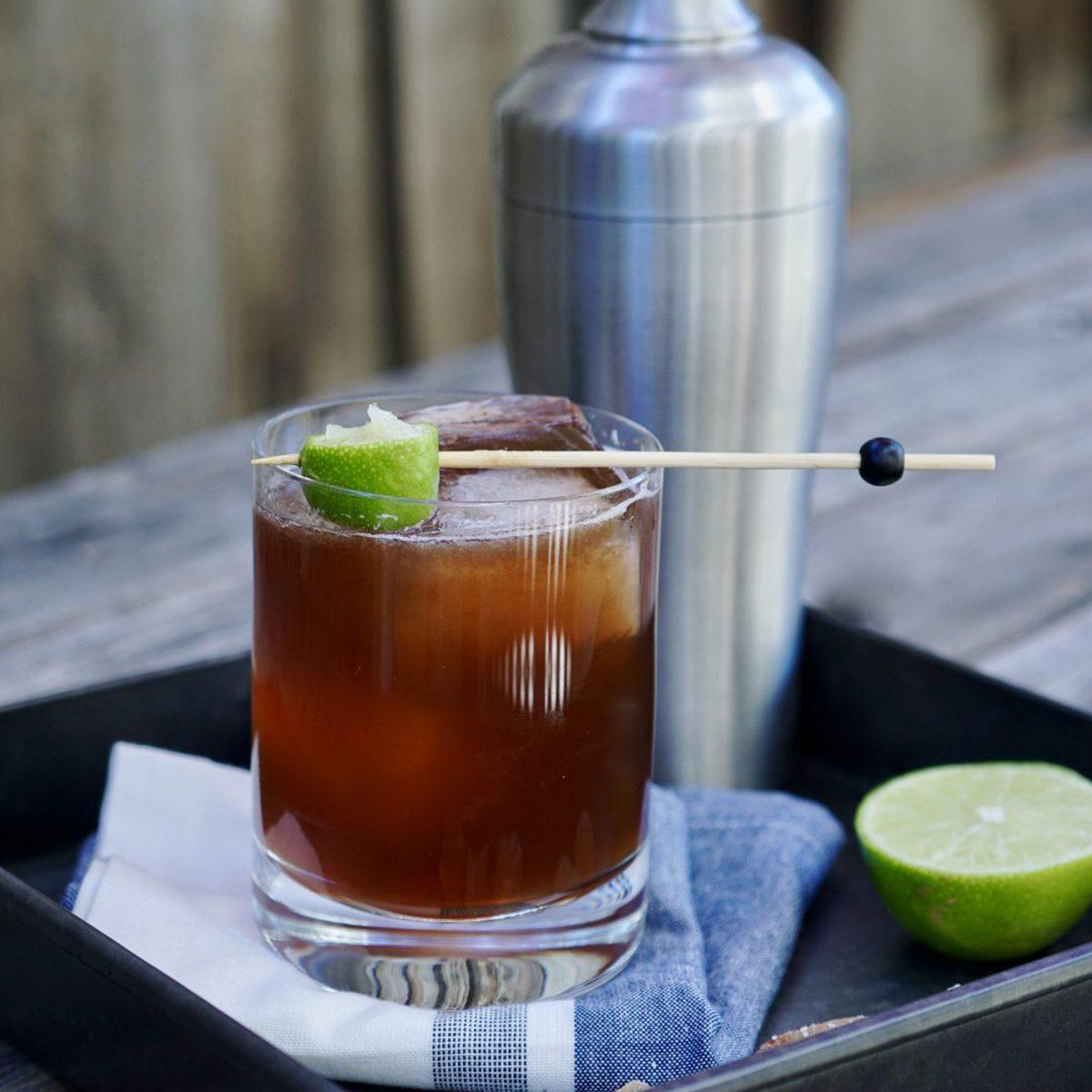 El Diablo ginger beer cocktail