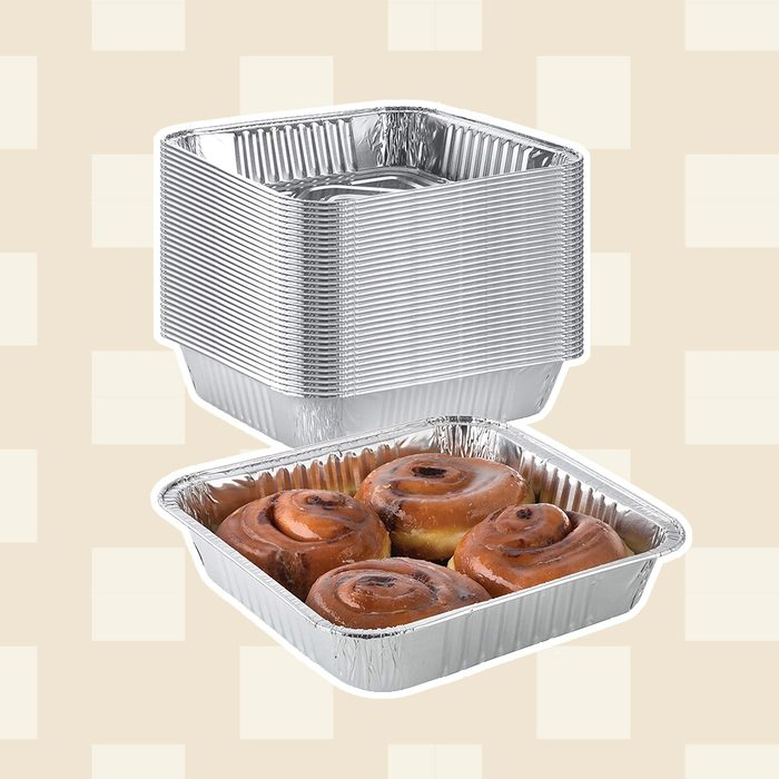 Extra-Thick Disposable Aluminum Baking Pans