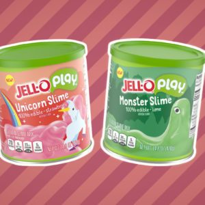 Jell-O's New Edible Slime Is Fun to Play With—and Eat!