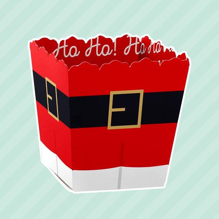 Jolly Santa Claus - Party Mini Favor Boxes - Christmas Party Treat Candy Boxes