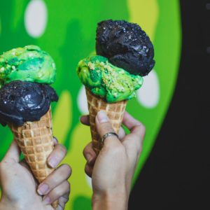 Here's A First Look At Rick And Morty's Ice Cream Pop-Up