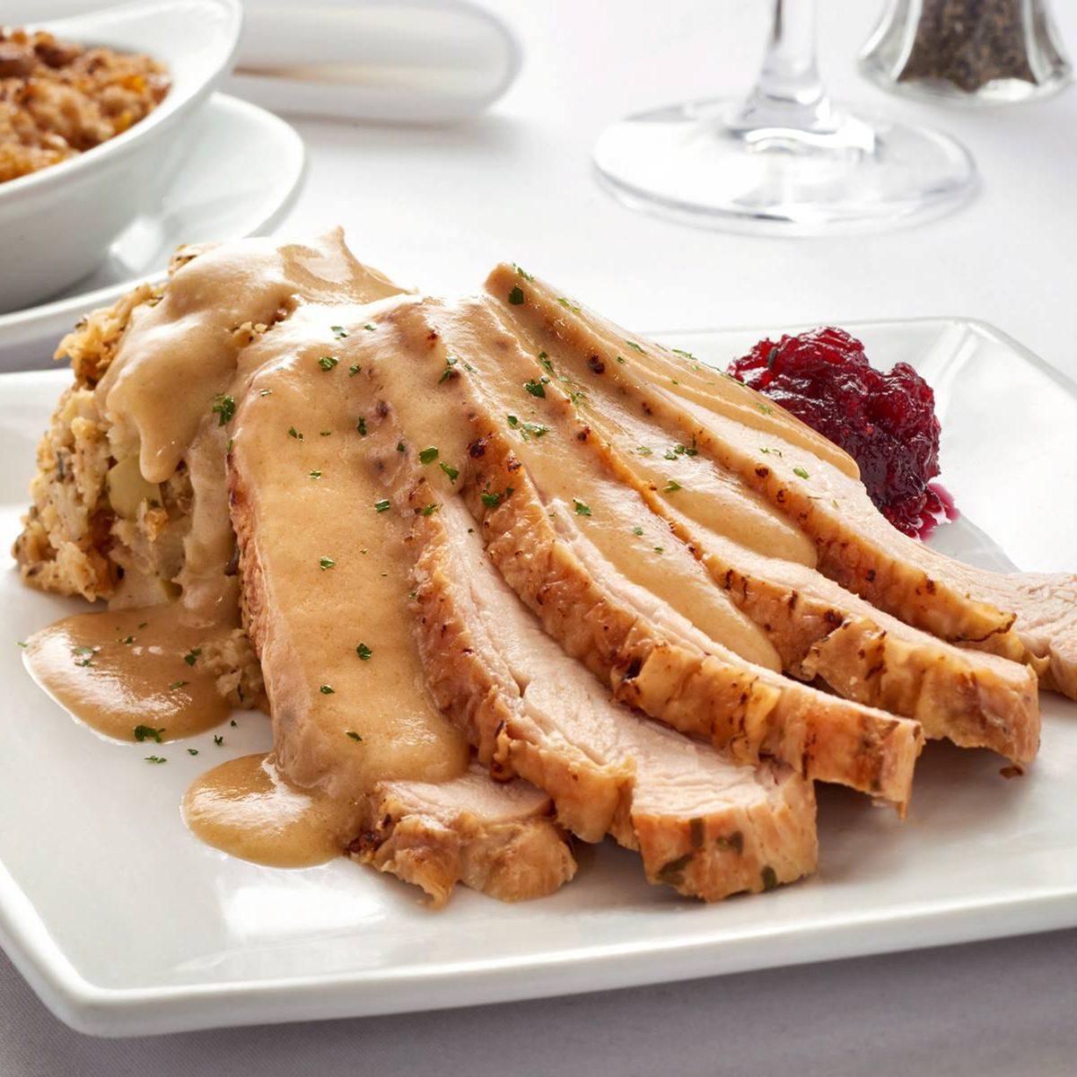 Turkey dinner at Ruth's Chris Steak House