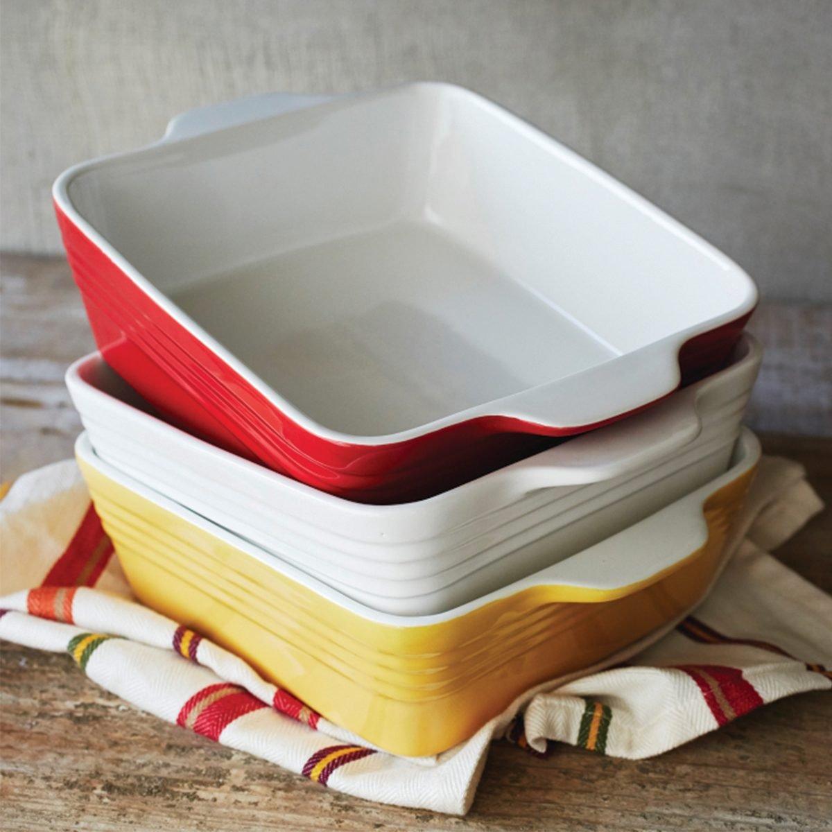 Stoneware Baker casserole dishes