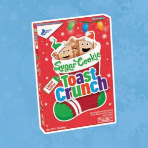 Sugar Cookie Toast Crunch Cereal Is Back!