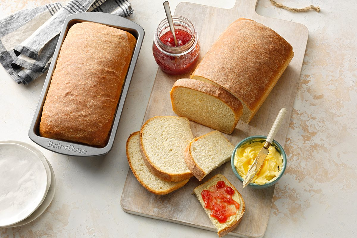 Toh Loaf Pan Metal Bakeware; Basic Homemade Bread