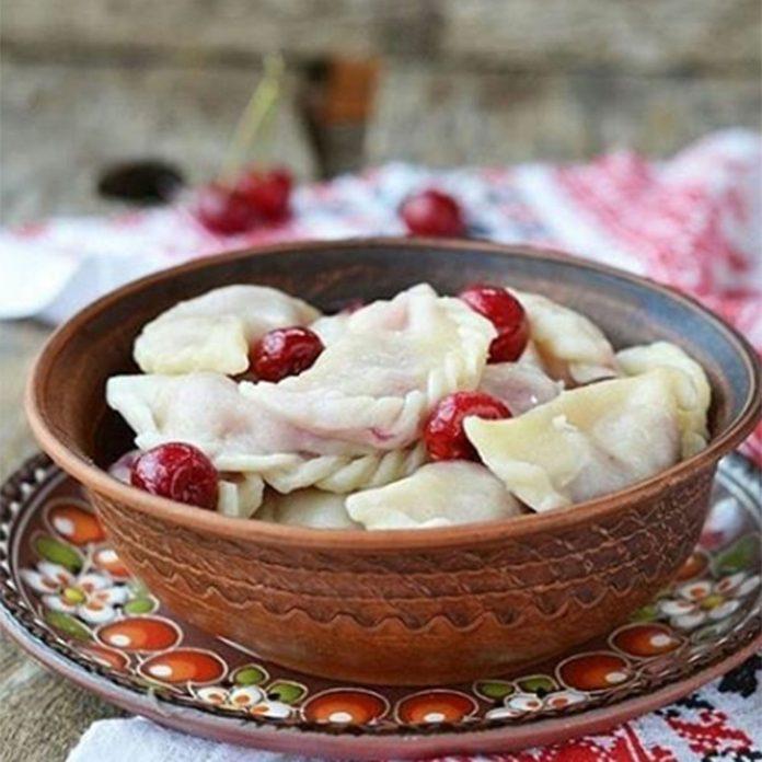 Ukrainian dumplings