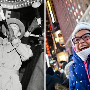 What New Year's Eve in Times Square Looked Like Through the Years