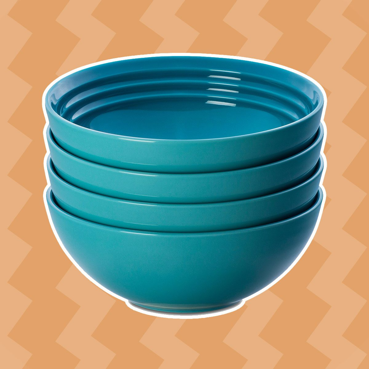 Bright and Colorful Soup Bowls