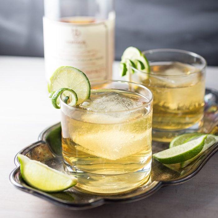 Bourbon Ginger Beer Cocktail