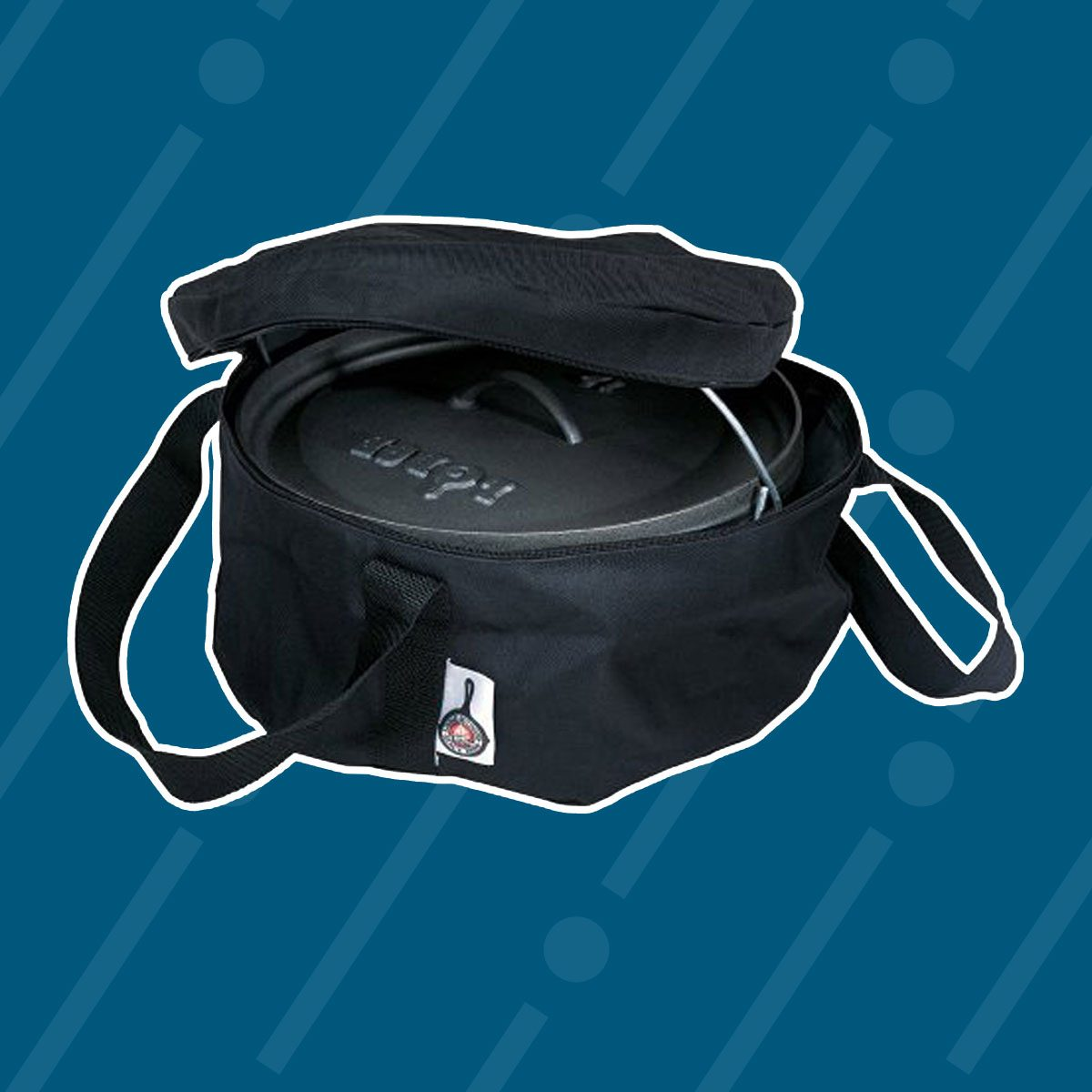 Lodge Camp 12-Inch Dutch Oven Tote Bag