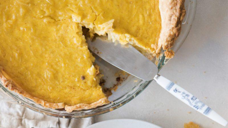 We Tried Custard Apple Pie—the Thanksgiving Dessert New England Loves