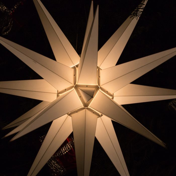 christmas star decoration on a marketplace in november south german historical city near munich and stuttgart; Shutterstock ID 761558416; Job (TFH, TOH, RD, BNB, CWM, CM): TOH