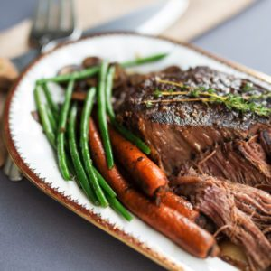 This Is Why Slow Cooker Pot Roast Tastes So Good
