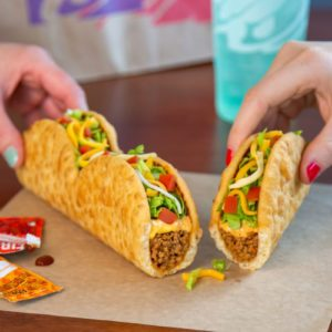 Taco Bell's New 'Triplelupa' Is A Trio Of Pull-Apart Chalupas