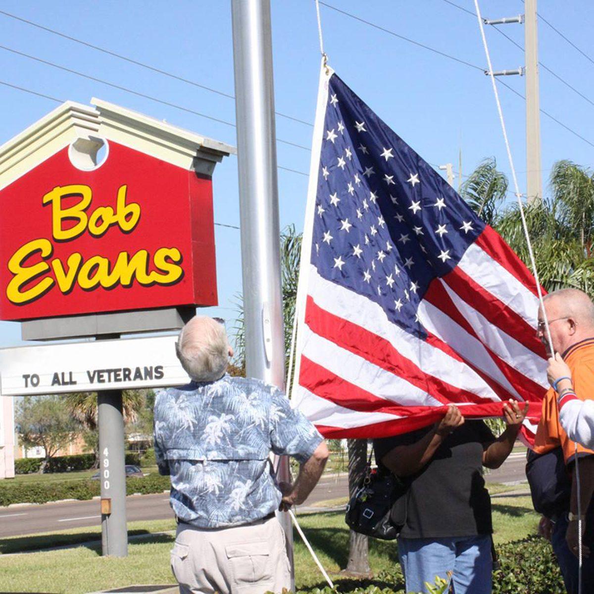 Veteran's and Bob Evan's
