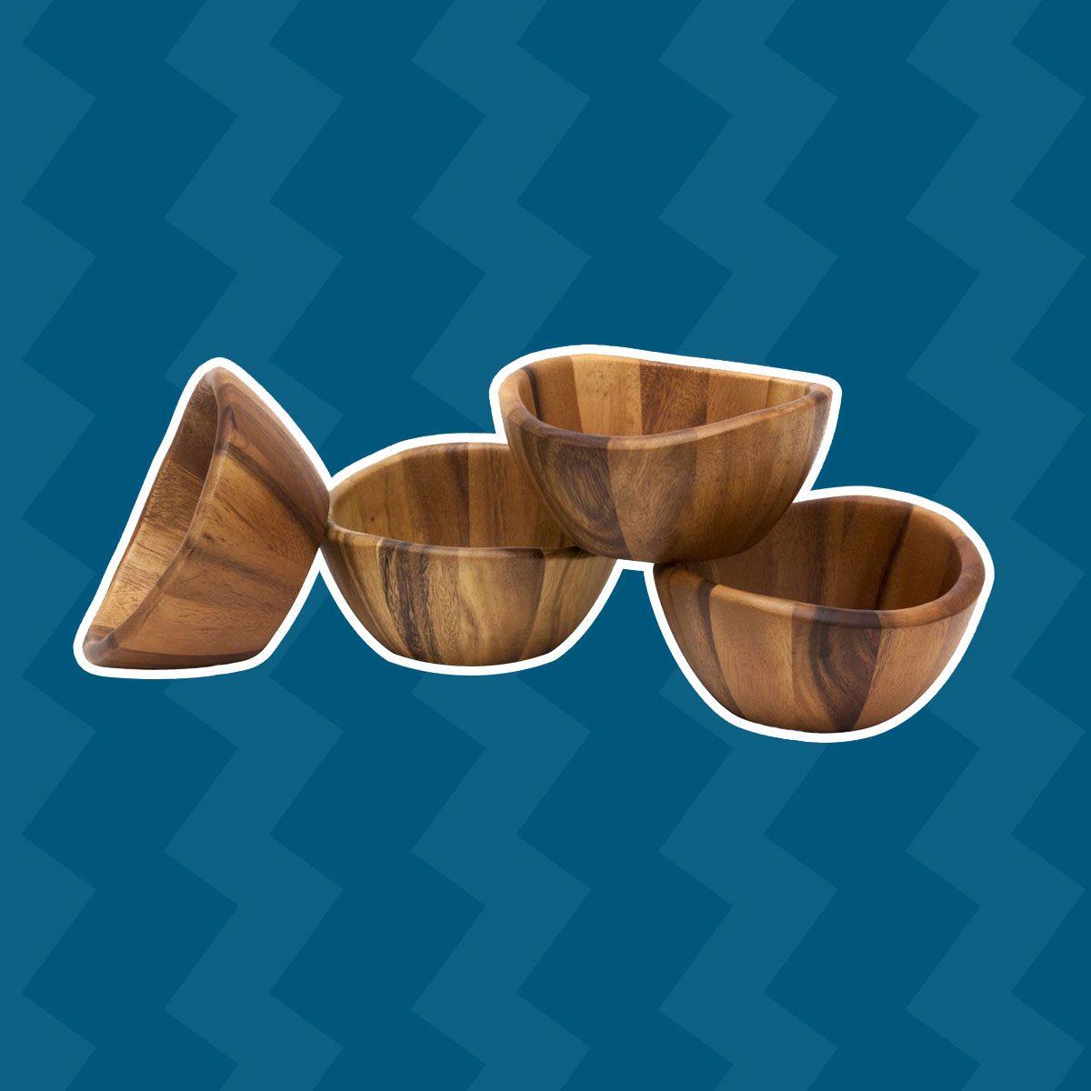 Acacia Wave Bowls
