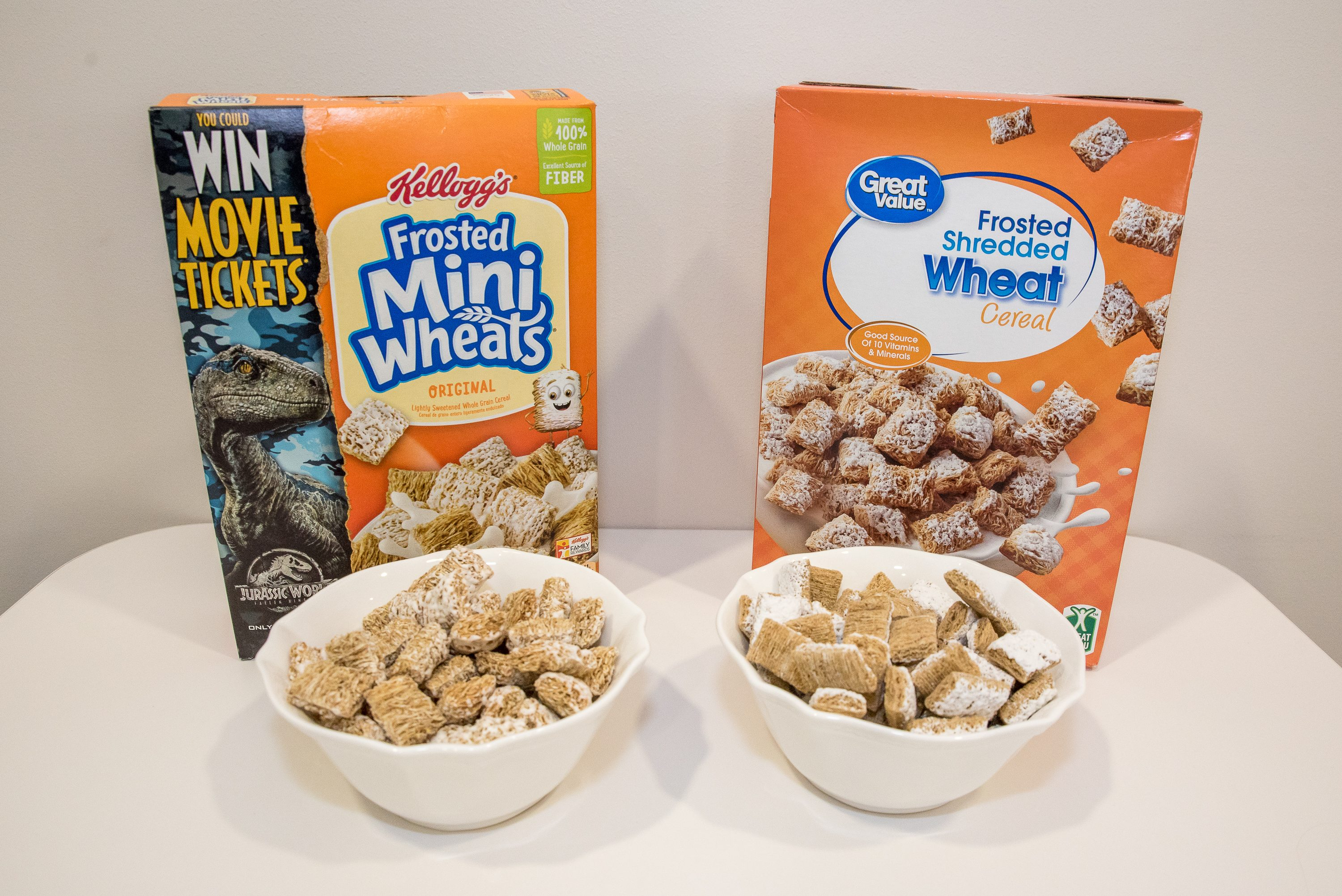 we tasted 7 name brand cereals against their generic version taste