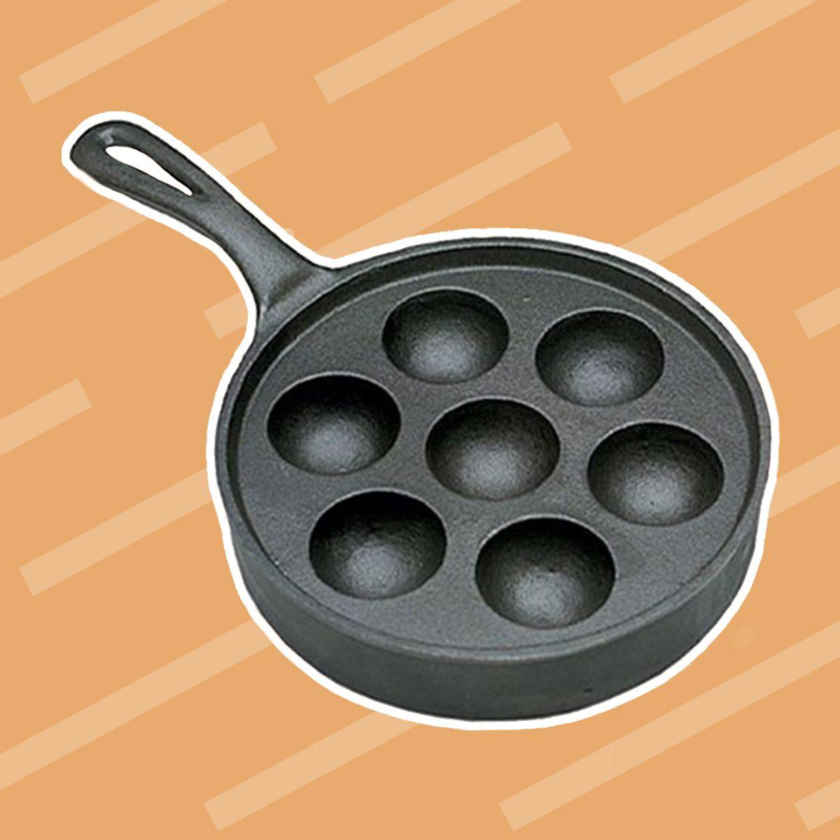 Aebleskiver Pancake Puffs Pan