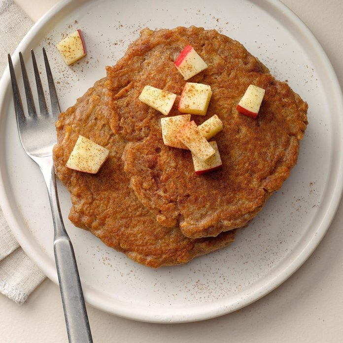 Runner Up: Apple-Cinnamon Quinoa Pancakes